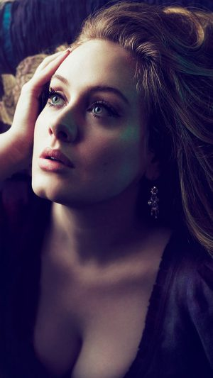 Adele Vogue Singer Photo Art iPhone 7 wallpaper