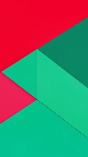 Android Marshmallow New Greener Red Pattern iPhone 7 wallpaper