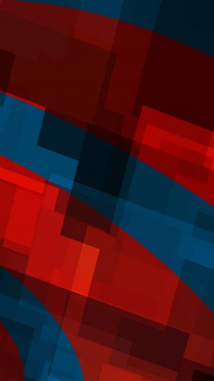 Art Red Blue Block Angle Abstract Pattern iPhone 7 wallpaper