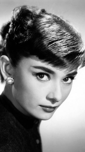 Audrey Hepburn Sexy Classic Celebrity iPhone 7 wallpaper