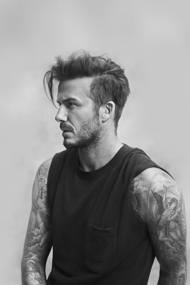 Beckham Handsome Bw Sports Good Lookin iPhone wallpaper