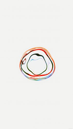 Bubble Apple Watch White Minimal Art iPhone 7 wallpaper