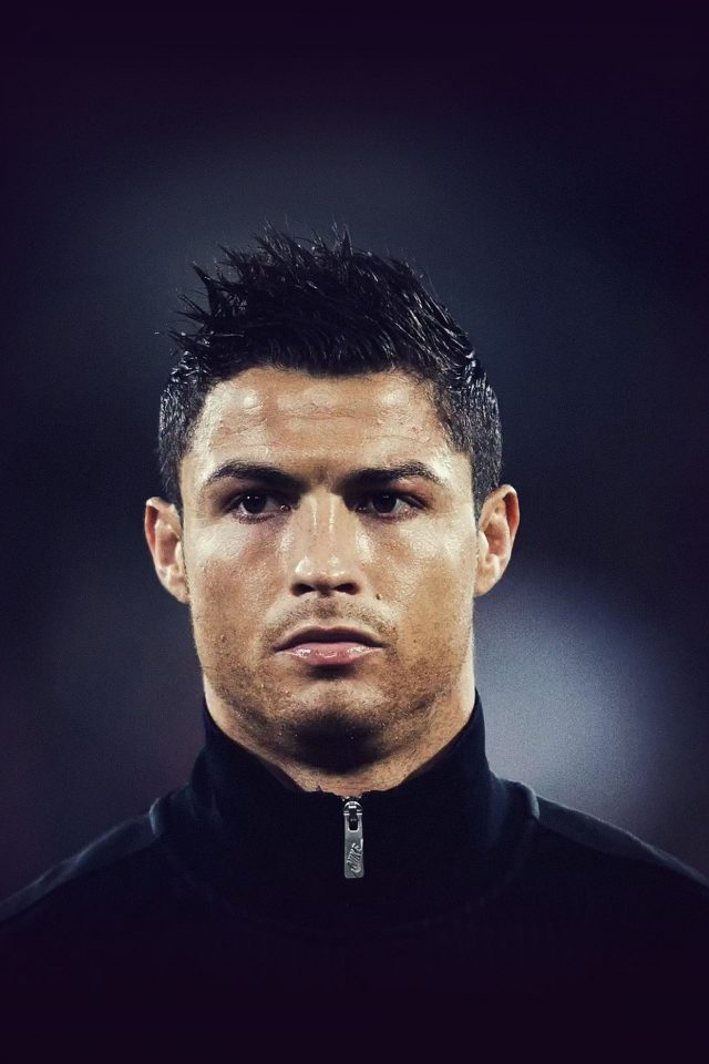 Cristiano Ronaldo Sports Face Iphone 7 Wallpaper