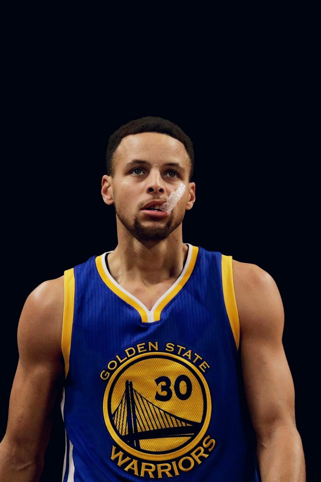 Curry Nba Golden State Warriors Sports Iphone 7 Wallpaper