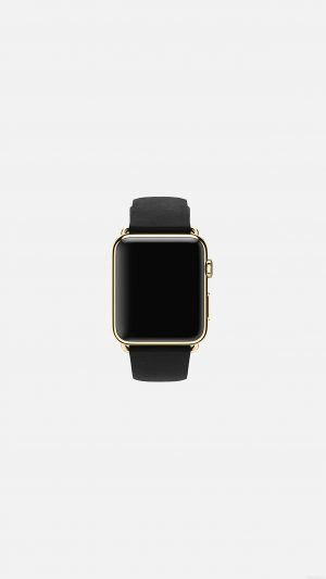 Dark Black Apple Watch Simple Art iPhone 7 wallpaper