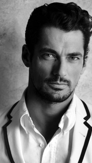 David Gandy Handsome Model Bw Dark iPhone 7 wallpaper