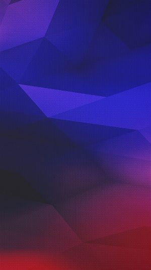 Digital Polyart Blue Red Pattern Abstract iPhone 7 wallpaper