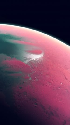 Earth Art Pink Dark Space iPhone 7 wallpaper