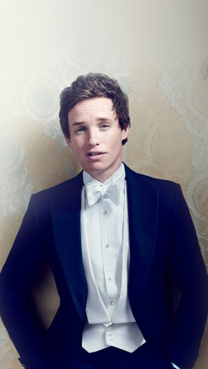 Eddie Redmayne Actor Celebrity Dress iPhone 7 wallpaper