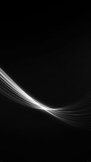 Feather Abstract Black Dark Pattern iPhone 7 wallpaper