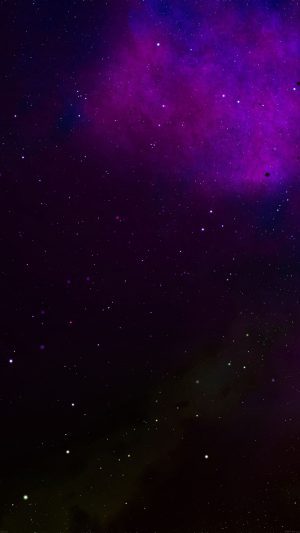 Frontier Galaxy Space Colorful Star Nebula iPhone 7 wallpaper