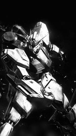 Gundam Rx Illust Toy Space Art Dark iPhone 7 wallpaper