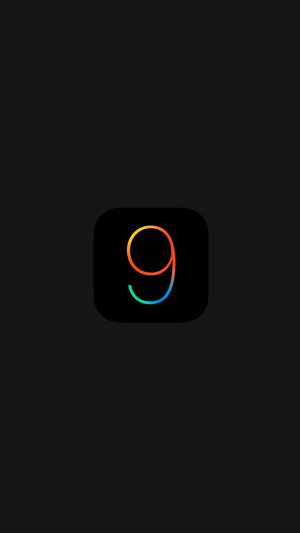 Ios9 Dark Logo Apple New Minimal Black Minimal iPhone 7 wallpaper