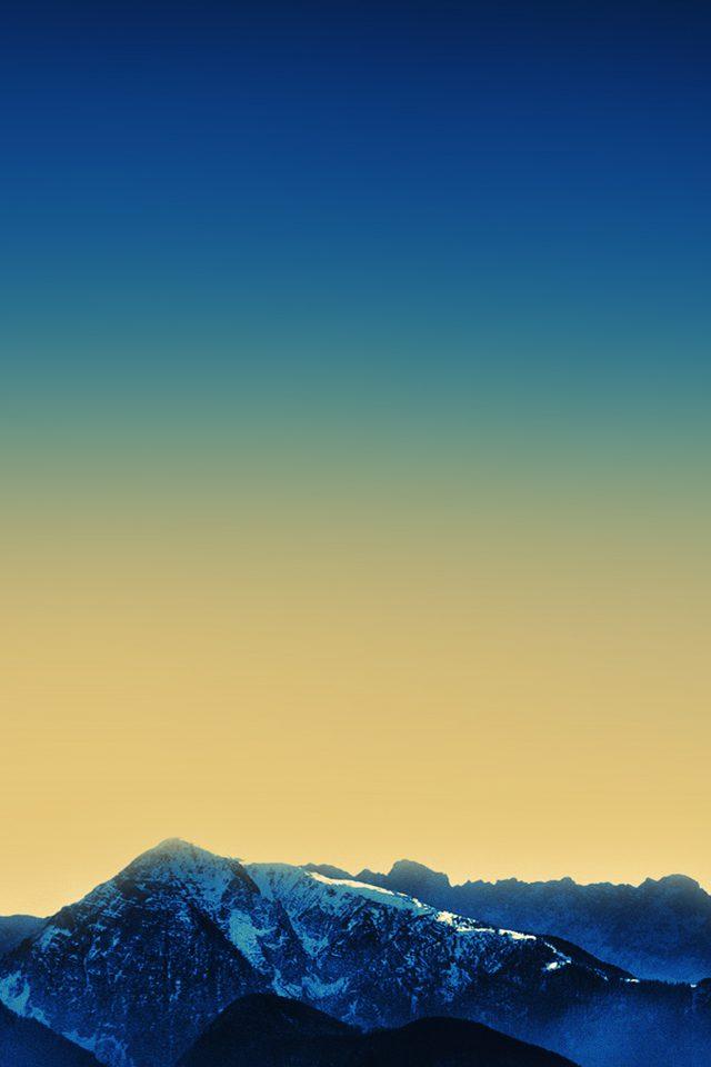 Ipad Air 2 Dark Blue Wallpaper Official Mountain Apple Art Iphone