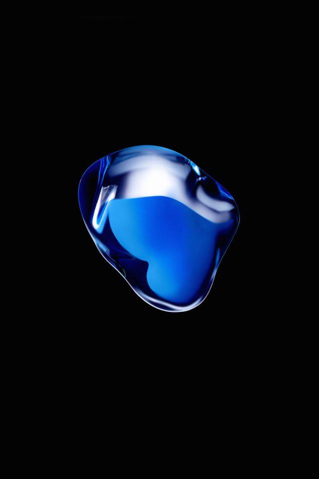 Iphone7 Airpod Blue Dark Art Illustration Apple Iphone 7