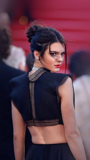 Kendall Jenner Red Celebrity iPhone 7 wallpaper