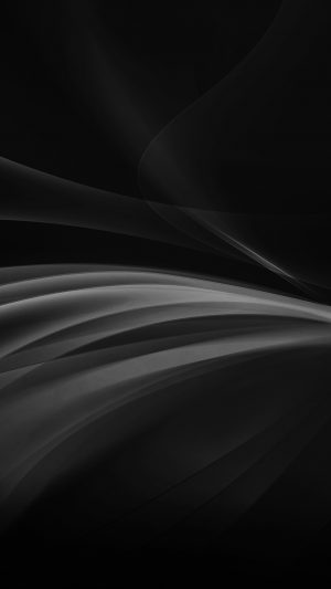 Line Art Abstract Dark Bw Smoke Pattern iPhone 7 wallpaper