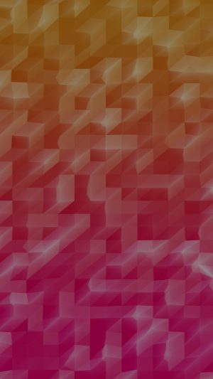 Low Poly Hot Red Abstract Fun Pattern iPhone 7 wallpaper