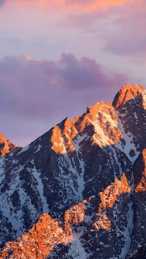 Macos Sierra Apple Art Background Wwdc Mountain iPhone 7 wallpaper