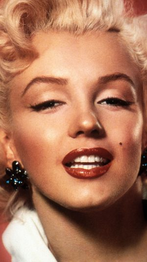Marilyn Monroe Smiling Celebrity Sexy iPhone 7 wallpaper