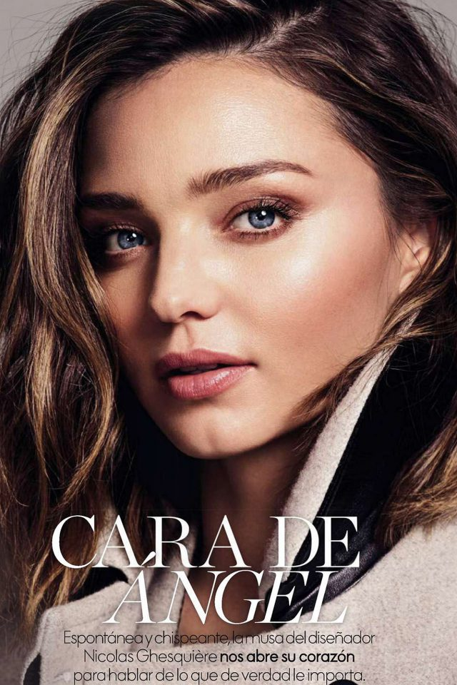 Miranda Kerr Magazine Face Girl Model iPhone 7 wallpaper