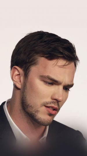 Nicholas Hoult Actor Celebrity iPhone 7 wallpaper