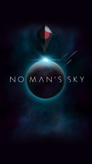 No Mans Sky Art Space Dark Illust Game iPhone 7 wallpaper