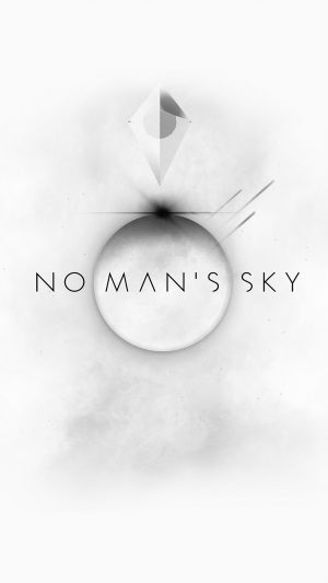 No Mans Sky Art Space White Illust Game iPhone 7 wallpaper
