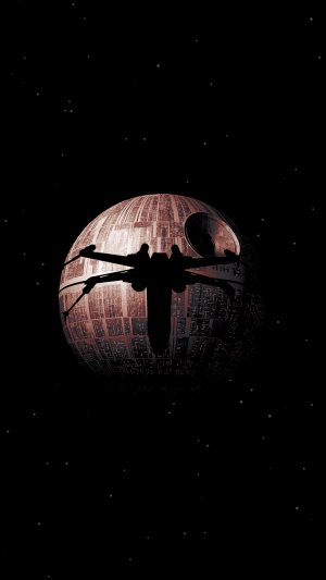 Rogue One Dark Space Starwars Poster Illustration Art iPhone 7 wallpaper