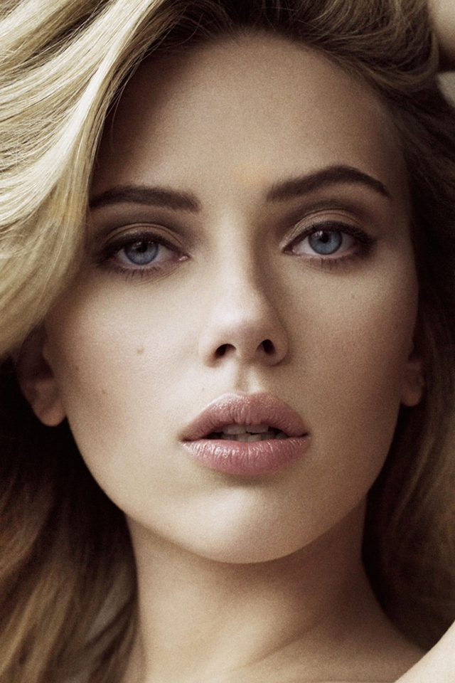 Scarlett Johansson Sexy Celebrity iPhone 7 wallpaper