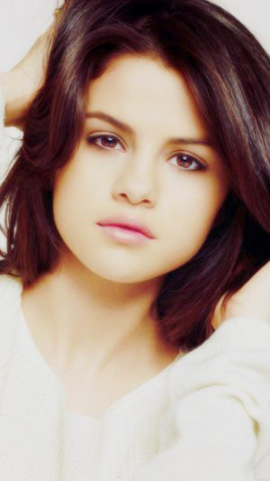 Selena Gomez Singer Artist Celebrity iPhone 7 wallpaper