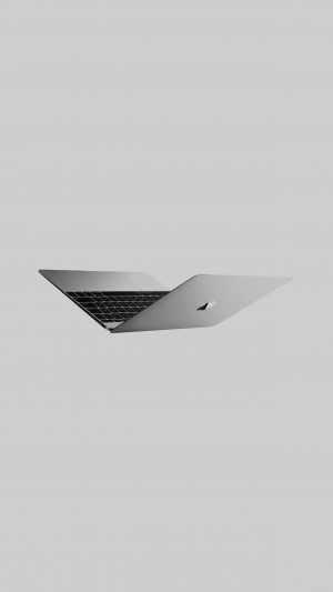Sliver Apple Macbook Dark Art iPhone 7 wallpaper