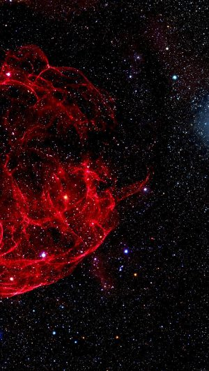 Space Red Bigbang Star Art Nature iPhone 7 wallpaper