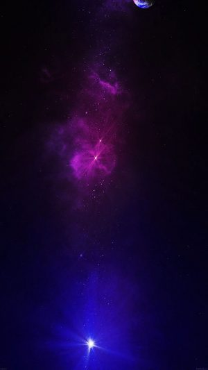 Space Travel Dead Star iPhone 7 wallpaper