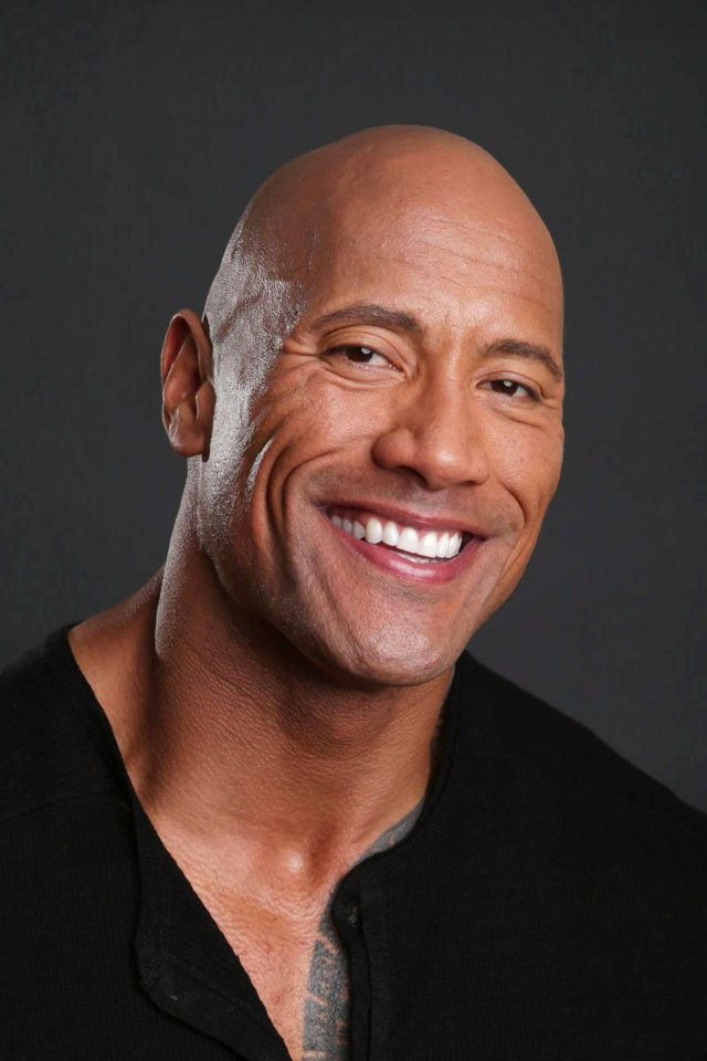 The Rock Dwayne Johnson Action Actor Celebrity iPhone wallpaper