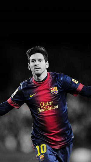 Wallpaper Messi Soccer Barcelona Sports iPhone 7 wallpaper