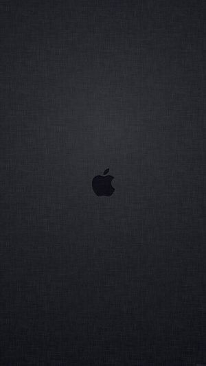 Wallpaper Tiny Apple Logo Dark iPhone 7 wallpaper