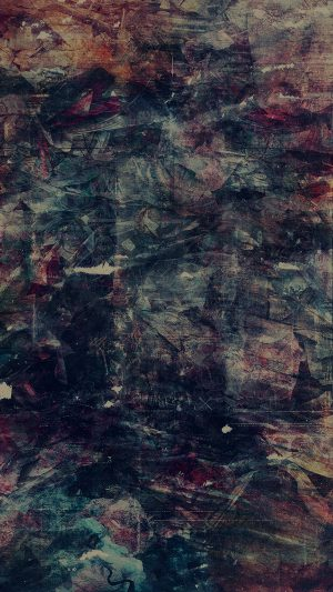 Wonder Lust Art Illust Grunge Abstract Dark iPhone 7 wallpaper