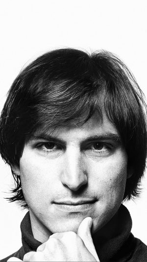 Young Steve Jobs Face iPhone 7 wallpaper
