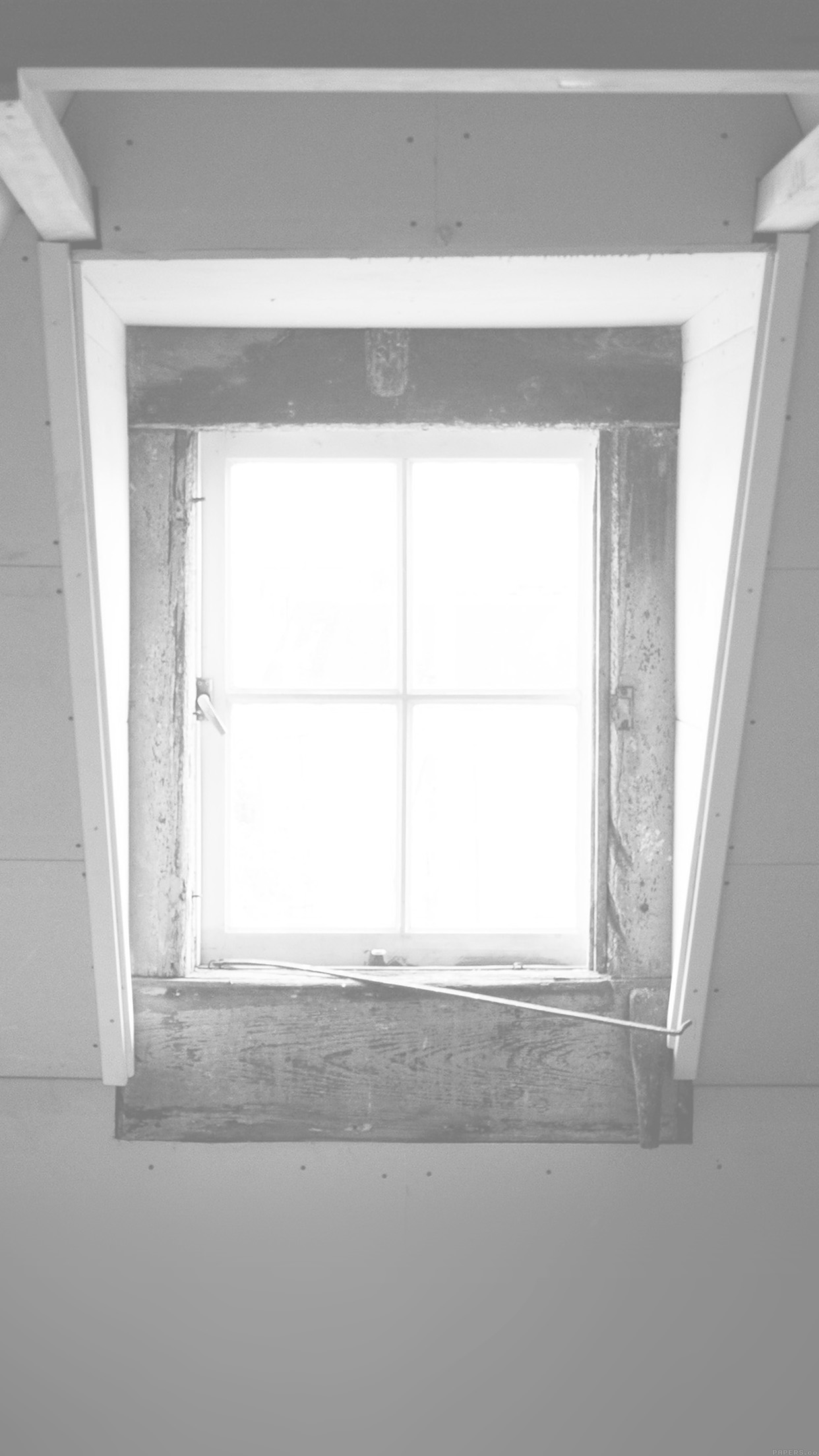 Window Lonely Light Home City White iPhone wallpaper
