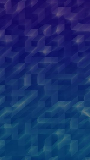 Low Poly Sea Blue Abstract Fun Pattern iPhone 7 wallpaper