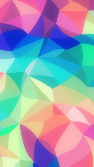 Rainbow Abstract Colors Pastel Soft Pattern iPhone 7 wallpaper