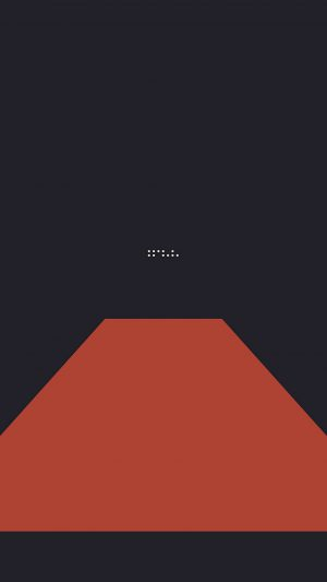 Simple Tycho Red Dark Abstract Minimal Art Illustration iPhone 7 wallpaper