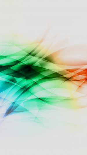 Smoke Rainbow Abstract Lines Pattern White iPhone 7 wallpaper