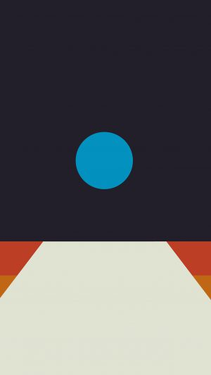 Tycho Art Blue Illustration Art Abstract Minimal iPhone 7 wallpaper
